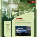 Dirty Green Wall WordPress Theme