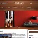 HomeDecore WordPress Theme